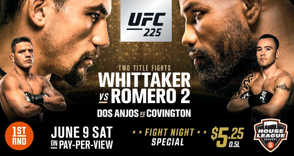 UFC 225 AT 1ST RND!!