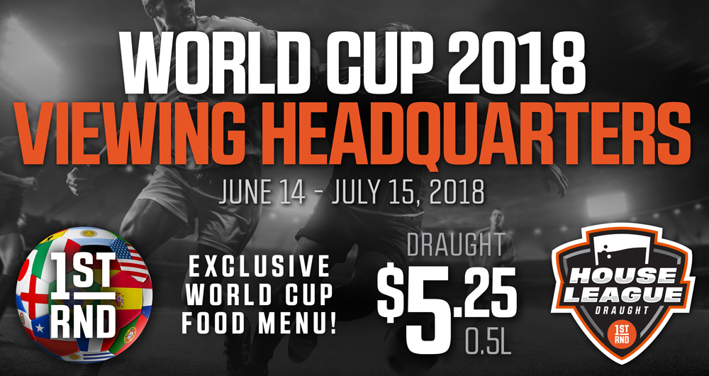 1st RND IS WORLD CUP HQ