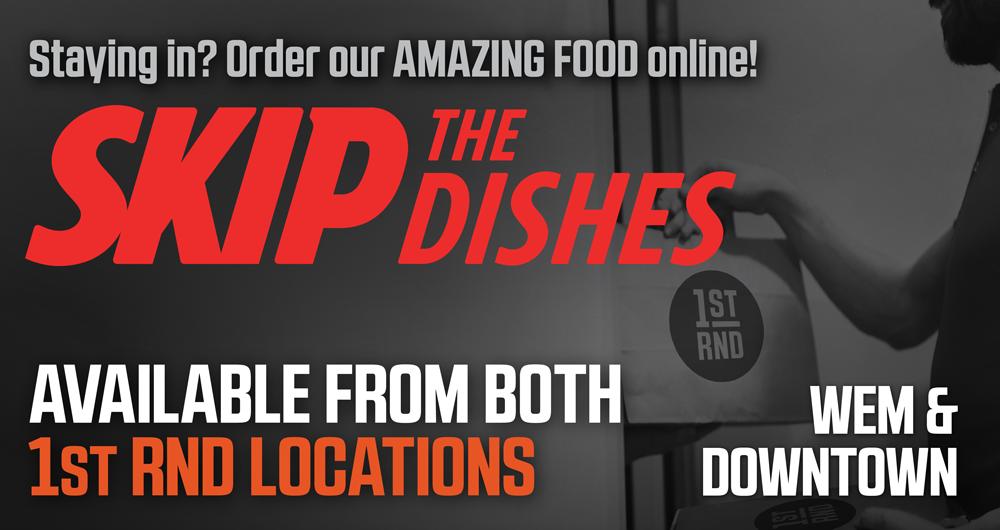 Skip The Dishes!