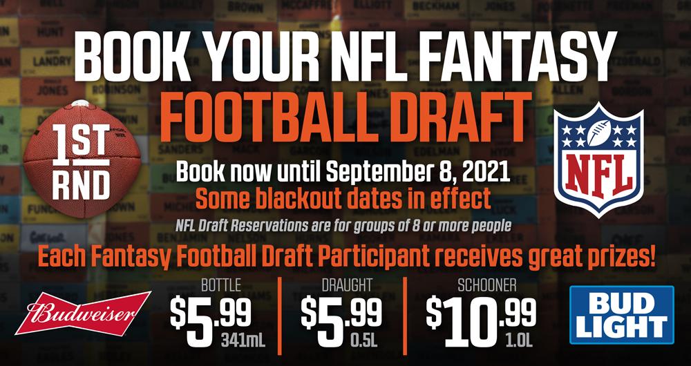 NFL 2021 FANTASY FOOTBALL!!