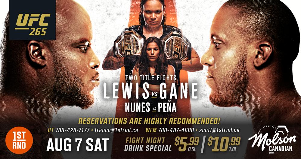 UFC 265!!