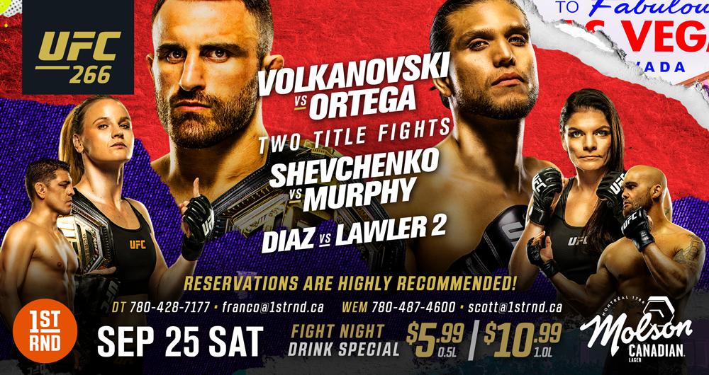 UFC 266!!